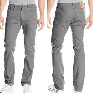 Levi's Men's 513 Slim Straight Monogray Pant 33x32